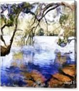 Do-00282 Cockrone Trees Canvas Print