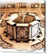 Do-00323 Old Bath Fountain Canvas Print
