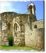 Do-00344 Church Of St John Marcus In Byblos Canvas Print