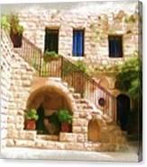 Do-00374 Old Building In Deir El-kamar Canvas Print