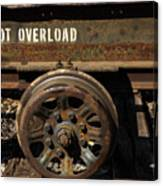 Do Not Overload Canvas Print