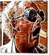 Doc Brown Mistical Canvas Print