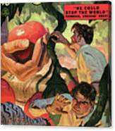 Doc Savage He Could Stop The World Canvas Print