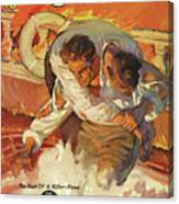 Doc Savage The Black Spot Canvas Print
