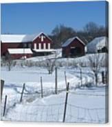 Doc Witts Farm Canvas Print