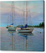 Dock N Dine Canvas Print