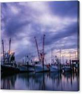 Dock Of Bay Canvas Print