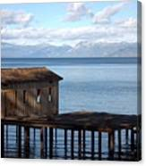 Dock Of Dreams South Lake Tahoe Ca Canvas Print