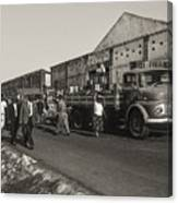 Dock Workers 3 Canvas Print