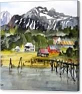 Docked At Haines Alaska Canvas Print