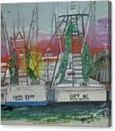 Docking Buddies Canvas Print
