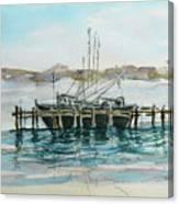 Docking Canvas Print