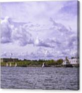 Dockside At Fort Trumbull Canvas Print