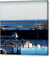 Dockside Canvas Print