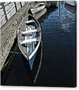 Dockside Quietude Canvas Print