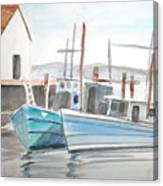 Dockside Canvas Print