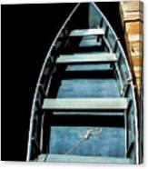 Dockside Skiff Canvas Print