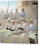 Doctor - Operation Theatre 1905 Canvas Print