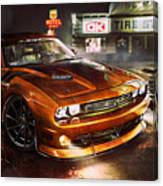Dodge Challenger R T Canvas Print