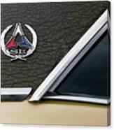 Dodge Challenger Se Classic Car Canvas Print