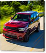 Dodge Durango Srt 2018 Canvas Print
