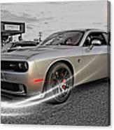 Dodge Hellcat Canvas Print
