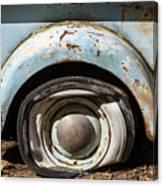 Dodge Pickup - Flat Tire Canvas Print