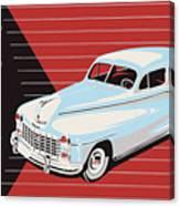 Dodge Showroom Poster Canvas Print