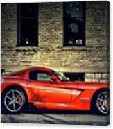 Dodge Viper Canvas Print