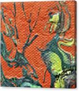Dodo Bird Uprising Canvas Print