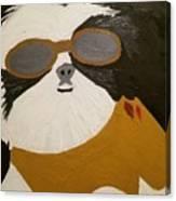 Dog Boss Canvas Print