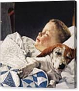Dog Food Ad, 1956 Canvas Print