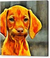 Dog Friend Canvas Print