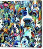 Dog Lovers Delight - Sharon Cummings Canvas Print