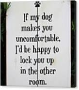 Dog Smart Canvas Print