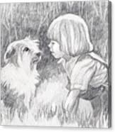 Dog Whisperer Canvas Print