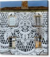 Doily House Canvas Print