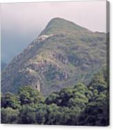 Dolbadarn Castle Close To Llanberis Pass Canvas Print