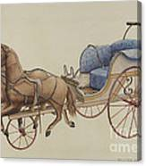 Doll Carriage Canvas Print