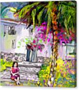Doll House In Turre Canvas Print