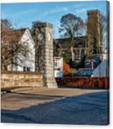 Dollar Town In Scotland Canvas Print