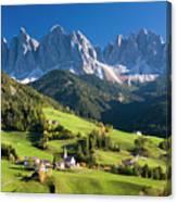 Dolomites, Italy #3 Canvas Print