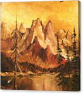 Dolomiti Canvas Print