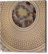 Dome In Capitol Building Canvas Print