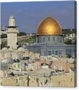 Dome Of The Rock Jerusalem Israel Canvas Print
