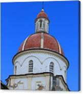Dome On A Church Canvas Print