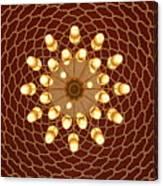 Domed Roof Mandala Canvas Print