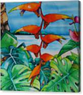 Dominican Heliconia Canvas Print
