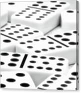 Dominoes II Canvas Print