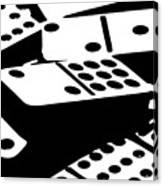 Dominoes IIi Canvas Print